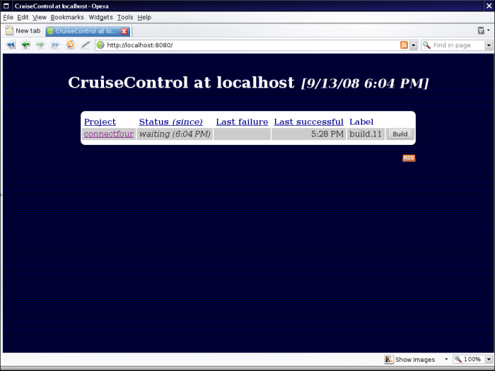 CruiseControl home page